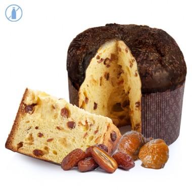 Panettone Datteri & Marron Glacé copertura Cioccolato